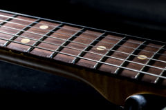 Guitar fingerboard Royalty Free Stock Photos