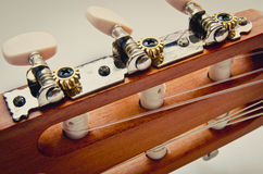 Guitar fingerboard Royalty Free Stock Image