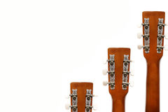 Guitar fingerboard tensioners. Music instrument Stock Photos