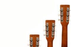 Guitar fingerboard tensioners Stock Photos