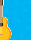 Guitar Frame Royalty Free Stock Photo
