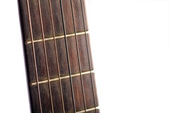 Guitar fret board Stock Photos