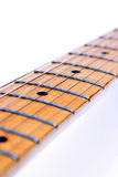 Guitar fretboard Royalty Free Stock Images