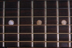 Guitar Fretboard Background Stock Photo