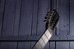 Guitar fretboard Stock Images