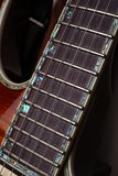 Guitar fretboard Royalty Free Stock Photography
