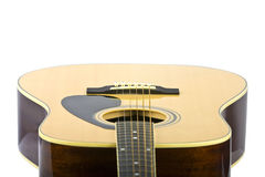 Guitar front close up Royalty Free Stock Images
