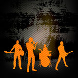 Guitar Group Royalty Free Stock Photo