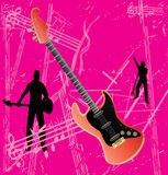 Guitar Grunge Background Royalty Free Stock Images