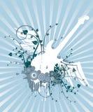 Guitar Grunge Design Royalty Free Stock Image