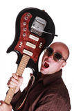 Guitar guy Royalty Free Stock Photos