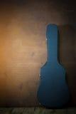 Guitar hard case Stock Photography