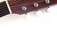 Guitar head Royalty Free Stock Photos