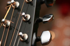 Guitar head Stock Photography