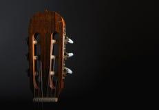 Guitar head stock Royalty Free Stock Photos