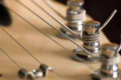 Guitar Head Stock Stock Image