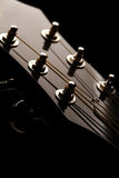 Guitar head Royalty Free Stock Images