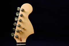 Guitar headstock Royalty Free Stock Photos