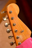 Guitar headstock Royalty Free Stock Image