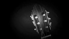 Guitar headstock Royalty Free Stock Photography