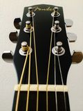 Guitar headstock. A Fender guitar headstock Royalty Free Stock Images