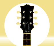 Guitar Headstock And Tuners Stock Photography