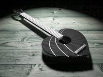Guitar Heart Stock Photos