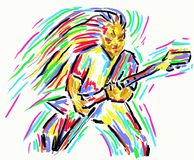 Guitar hero Stock Images