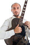 Guitar hero Stock Photo
