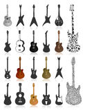 Guitar icon2 Stock Image