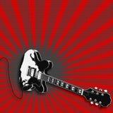 Guitar Illustration Stock Photo
