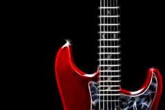 Guitar illustration Royalty Free Stock Images