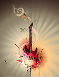 Guitar  illustration Royalty Free Stock Photos