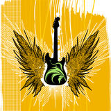 Guitar illustration vector Royalty Free Stock Photography