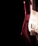 Guitar Isolated On A Black Background Royalty Free Stock Image