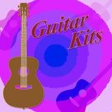 Guitar Kits Shows Guitars Guitarist And Diy Royalty Free Stock Image
