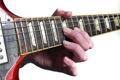 Guitar lessons are good! Royalty Free Stock Photo