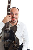 Guitar lessons Royalty Free Stock Photos