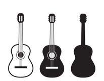 Guitar logo Stock Images