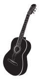 Guitar logo Royalty Free Stock Photo