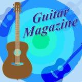 Guitar Magazine Indicates Guitars Magazines And Rock Stock Image