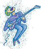 Guitar man Royalty Free Stock Photo