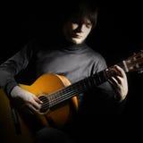 Guitar man Royalty Free Stock Photography