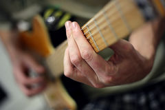 Guitar 4 Royalty Free Stock Photography