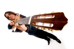 Guitar master Royalty Free Stock Images