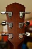 Guitar metal pin Royalty Free Stock Image