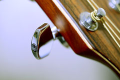 Guitar metal pin Royalty Free Stock Photo