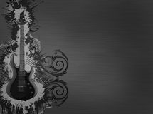 Guitar Metallic Texture Royalty Free Stock Images