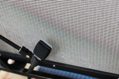 Guitar microphone with combo Royalty Free Stock Image