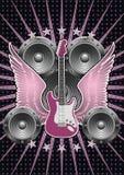 Guitar Motif. Stock Photography